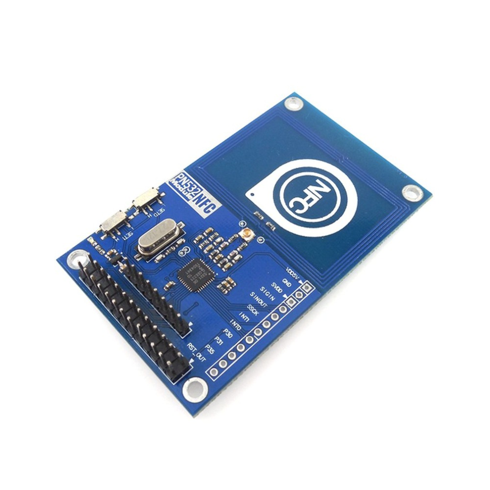 PN532 NFC Precise RFID IC Card Reader Module Shield V3 13.56MHz SPI IIC I2C UART 3.3V NFC Board For Arduino UNO R3 Raspberry PI(China)