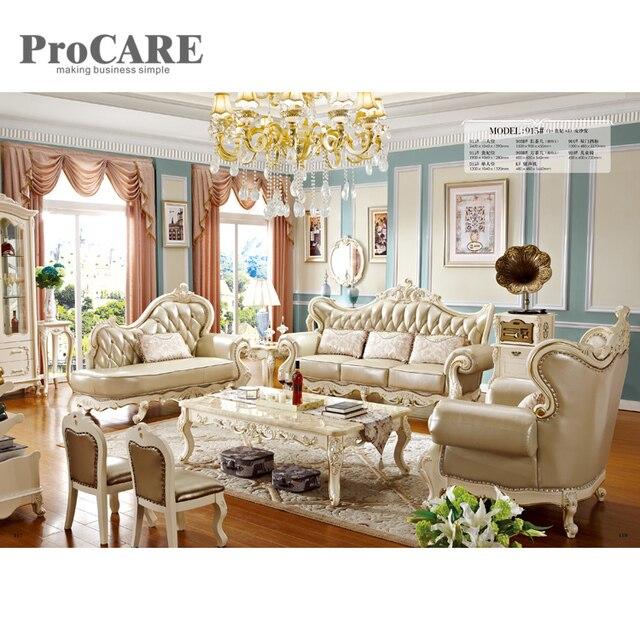 Furniture Living Room Sofa Set Luxury Royal Designs 915