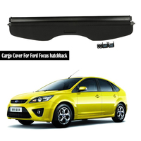 Rear Cargo Cover For Ford Focus hatchback 2005 2006 2007 2008 2009 2010 2011 privacy Trunk Screen Security Shield shade