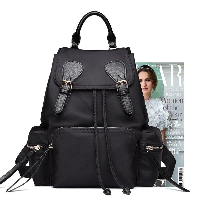 ไนลอนกระเป๋าเป้สะพายหลังหญิง 2019 ใหม่ผ้า Oxford น้ำหนักเบากระเป๋าเดินทางขนาดใหญ่ ins super กระเป๋าสุภาพสตรีกระเป๋าเป้สะพายหลัง-ใน กระเป๋าเป้ จาก สัมภาระและกระเป๋า บน   2