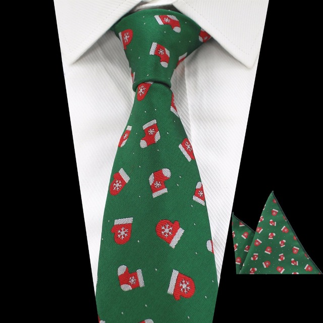 jemygins 2017 new quality christmas tie jacquard woven silk tie and