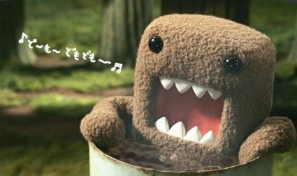20cm DomoKun Funny Domo-kun Doll Children Novelty Item Creative Gift The Kawaii Stuffed Plush Toy For Baby Kids Free Shipping