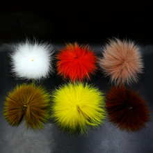 New 6colors Fox Tail Hair for Fly fishing Fly Tying Hair Hobby Craft Fish Arctic Fox polar tail fly tying material for streamers