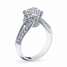 7mm Cubic Zircon rings 925 sterling silver wedding rings for women royal crown classic female jewelry anillos