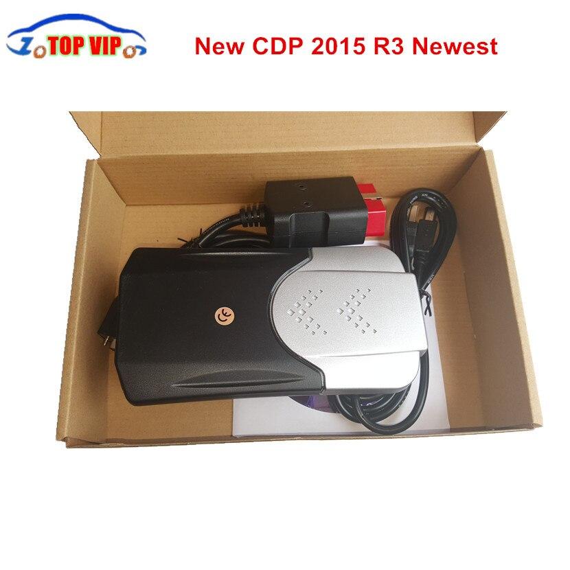 Neue ankunft CDP PRO 2018 Neueste 2015. R3 Keygen Neue TCS CDP neue VCI Selbstdiagnosewerkzeug Auto Scanner TCS CDP PRO Für autos/Lkw