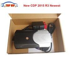 Новое поступление CDP PRO 2018 Новые 2015. r3 Keygen новый TCS CDP новый VCI автоматический диагностический инструмент для автомобилей сканер TCS CDP Pro для автомобилей/грузовиков