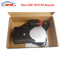 New arrival CDP PRO 2018 Newest 2016.R0 Free Activated New TCS CDP New VCI Auto Diagnostic Tool Car Scanner TCS CDP PRO For Cars