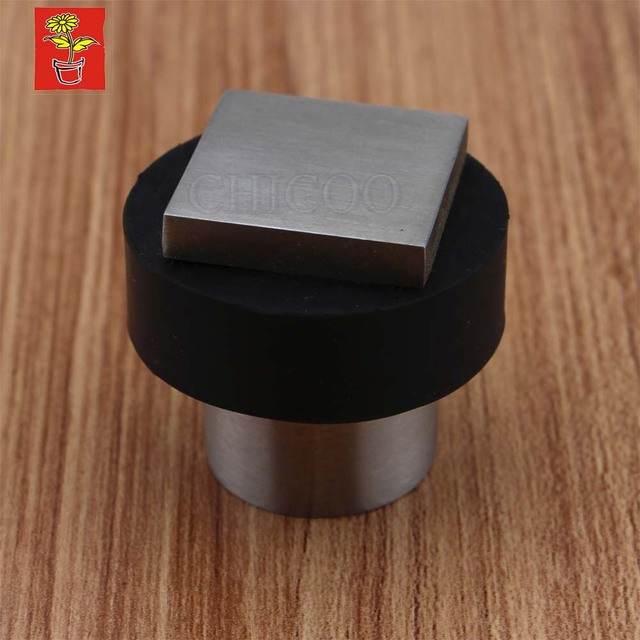 Top Quality Stainless Steel Metal Door Stopper Rubber Doorstops Decorative  Door Stop