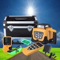 Автоматическая самовыравнивающийся Ротари Лазерный уровень зеленый луч 500 м Диапазон Горизонтальные и вертикальные Лазерные уровни