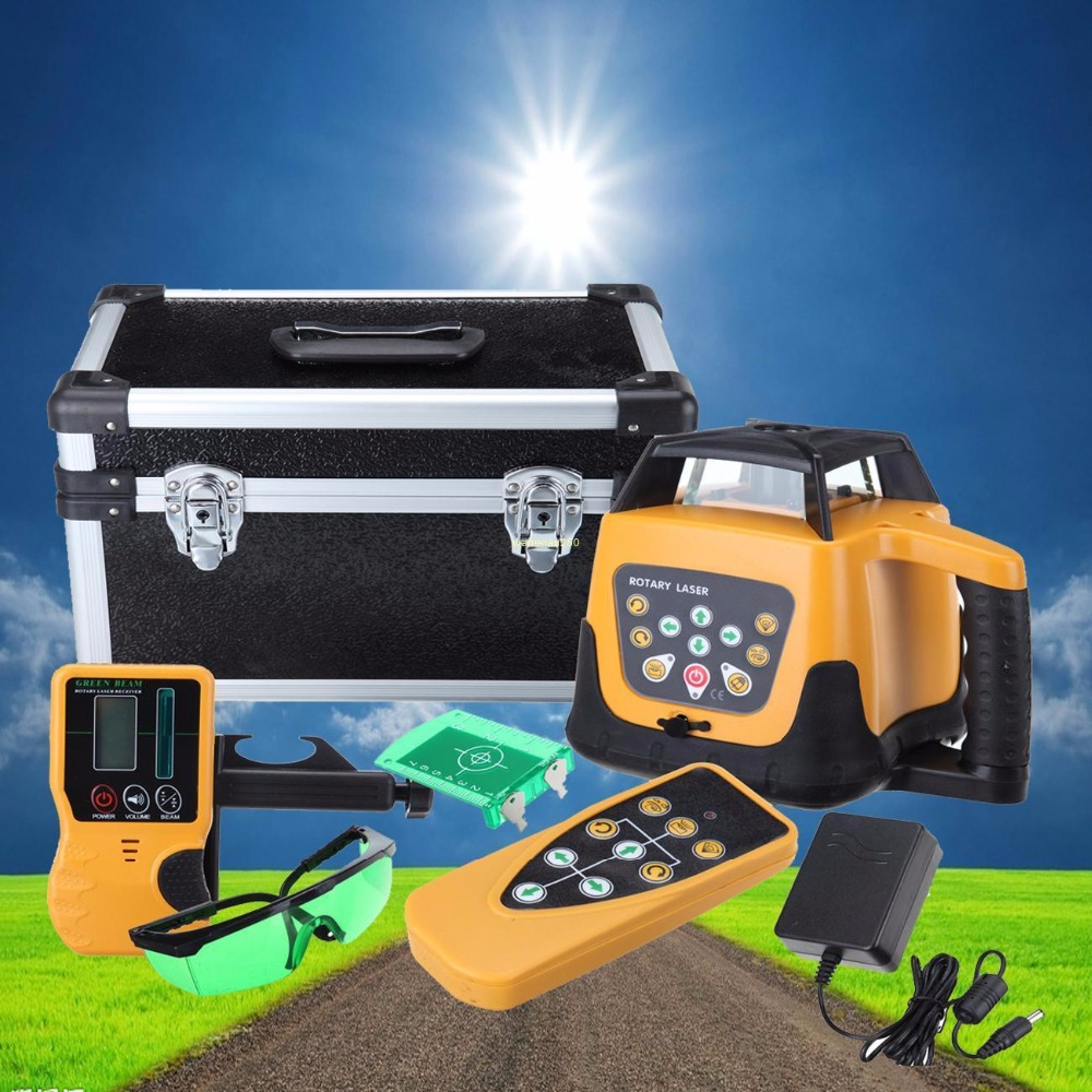 (Ship From Germany) Automatic Self-leveling Rotary Laser Level Green Beam 500m Range Horizontal Vertical Laser Levels kapro 515 540nm horizontal vertical laser level green color accuracy 0 2mm m model 872g