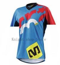 2019 popular cycling jersey short-sleeved sweatshirt mountain bmotocross riding bicycle downhill