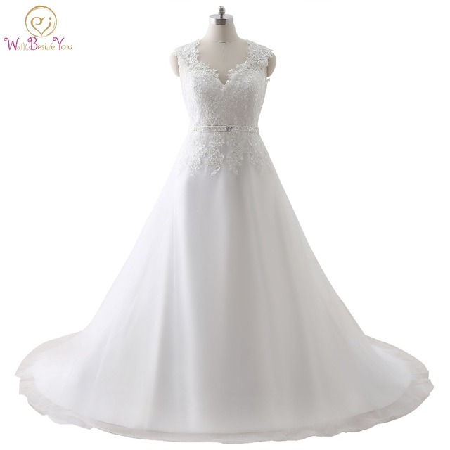 100% Real Images Cheap Plus Size Wedding Dresses Made in China Deep ...
