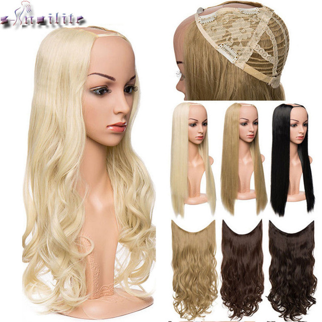 S Nolilite 180 200g U Part Synthetic Hair Extension Clips Ins