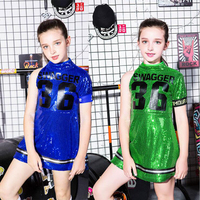 hip hop dance costumes jazz dance costumes girls hip hop girl sequin dance dress bling street dance wear