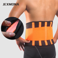 Adjustable Sports Waist Belt Neoprene Waist Support Fitness Slimming Training Protector Brace Back Pain Relief Sweet