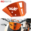 Motorcycle Aluminum Motorbike Windshield Windscreen For KTM Duke 125 200 390 Adjustable Risen Clear Windshield Wind