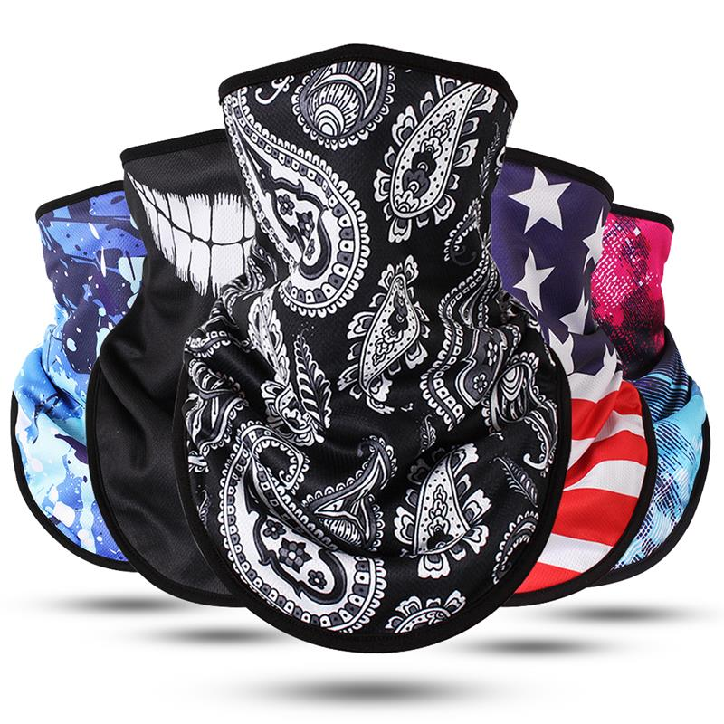 New Fashion Warm Triangle Scarf Collar Masks Bandana Mask Windproof Thicken Warm Neck Gaiter Skiing Mask For Outdoor Riding