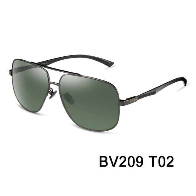 e0c943e6b92 2015 Bolon Male Official Authentic Retro Sunglasses for men Aviator  Polarized fashion Goggles outdoor driving Carl Zeiss eyewear