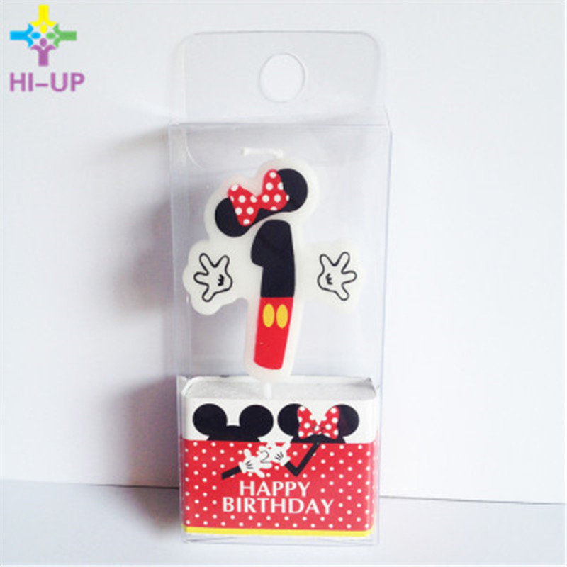 1pc Minnie Mouse Candle 1 2 3 4 Anniversary Cake Numbers Age Birthday Baby Shower Party Supplies In Decorating From Home