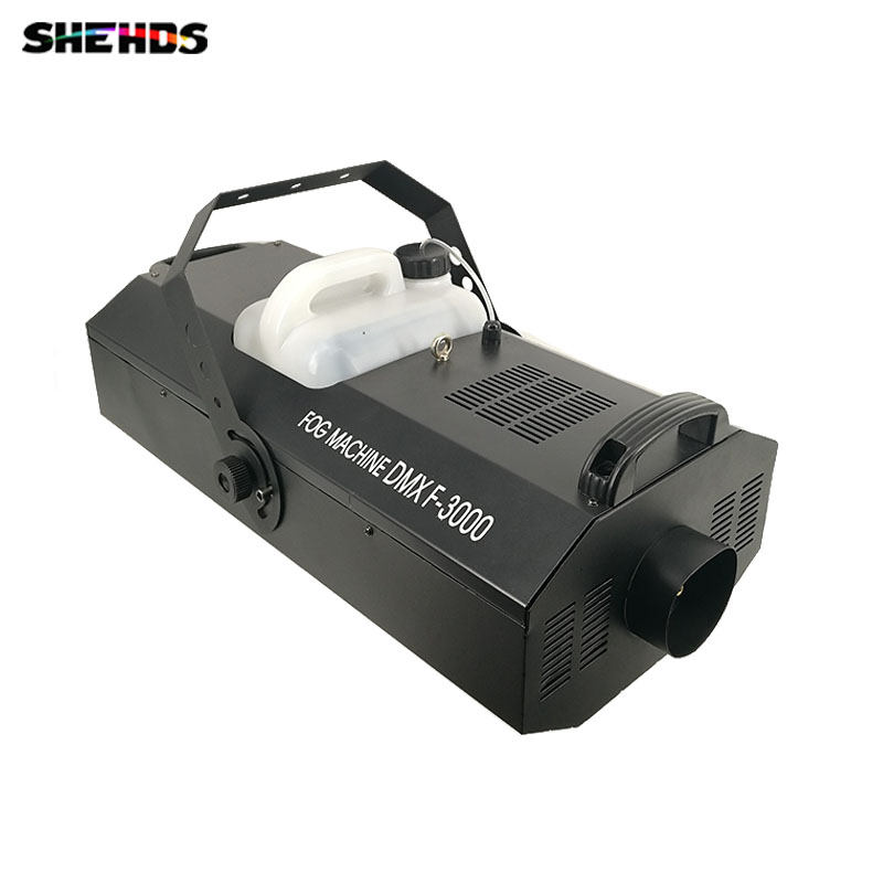 4pcs/lot SHEHDS 3000W Fog Machine Wire Control Remote Control Power Wire Control Stage Smoke Machine DJ Stage effect equipment professional welding wire feeder 24v wire feed assembly 0 8 1 0mm 03 04 detault wire feeder mig mag welding machine ssj 18