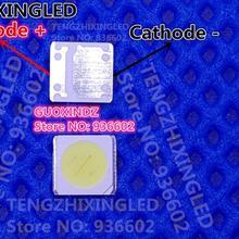 UNI высокой мощности Светодиодный светодиодный подсветка 2 Вт 6 в 3535 165LM холодный белый ЖК-подсветка для ТВ приложения
