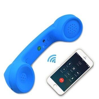 Wireless Retro Telefonhörer und Draht Strahlung-beweis Hörer Empfänger Kopfhörer für ein handy mit komfortable anruf