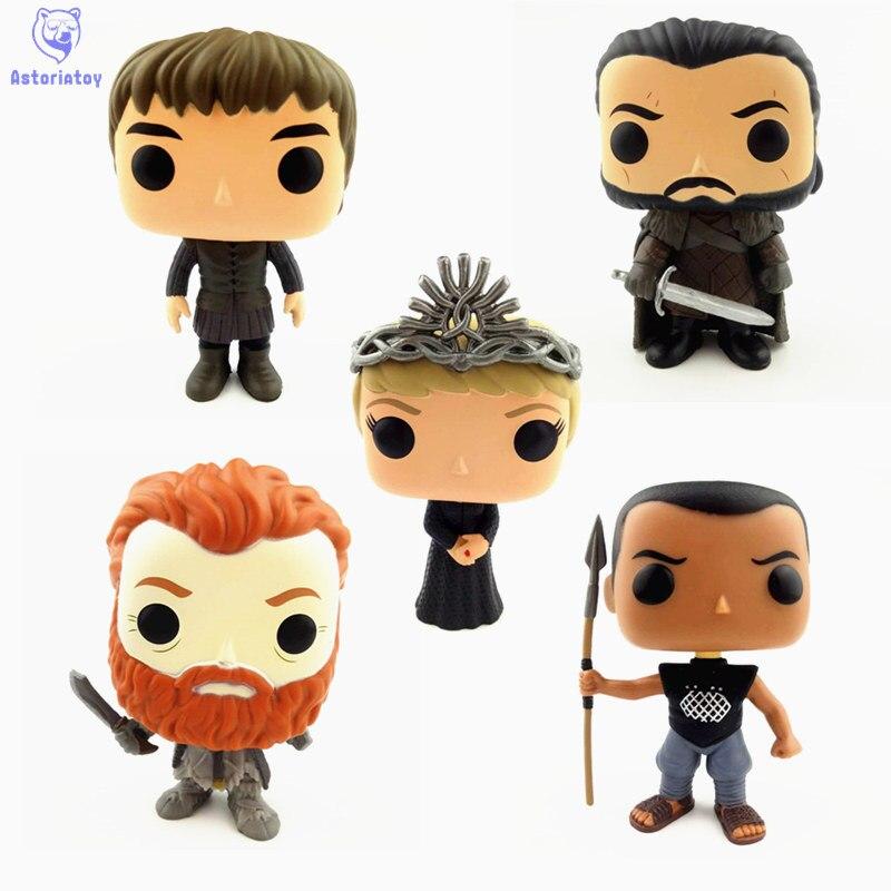 NEW 10cm Game of Thrones Cersei Lannister Bran Stark Grey