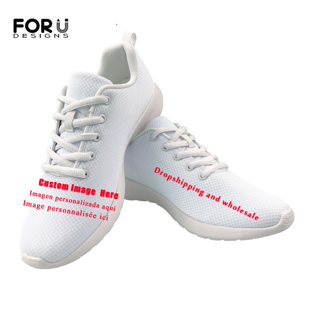 FORUDESIGNS Custom Images or Logo Flats Women Shoes Casual Spring Comfortable Breathable Mesh Ladies Sneakers Shoes Woman Light FORUDESIGNS Custom Images or Logo Flats Women Shoes Casual Spring Comfortable Breathable Mesh Ladies Sneakers Shoes Woman Light