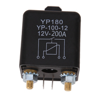 High Power 24V 12V DC 200A Car Truck Motor Automotive Relay Continuous Type Automotive Relay Car