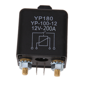 High Power Car Relay 12V DC 200A Car Truck Motor Automotive Switch Car Relay Continuous Type Automotive Relay Car Relays(China)
