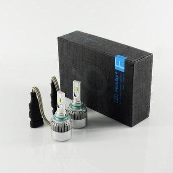 Carro Led Car 2x 72w 7600lm Highlight Hb3/9005 Headlight Kit Bulb 9-31v Flip Chip 6000k Truck Fog Head Lamp Can All Autos Use