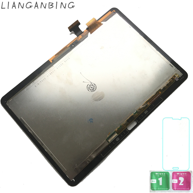 New 100% LCD 10.1 SM-P600 P605 P600 Display Touch Screen Digitizer Sensors Assembly Panel Replacement For Samsung Galaxy P600