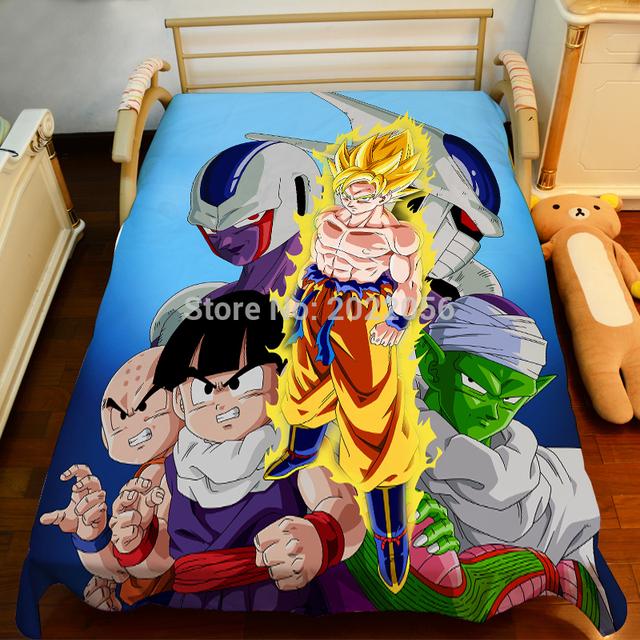 Dragonball Z Bedcover  Sheet 150*200cm