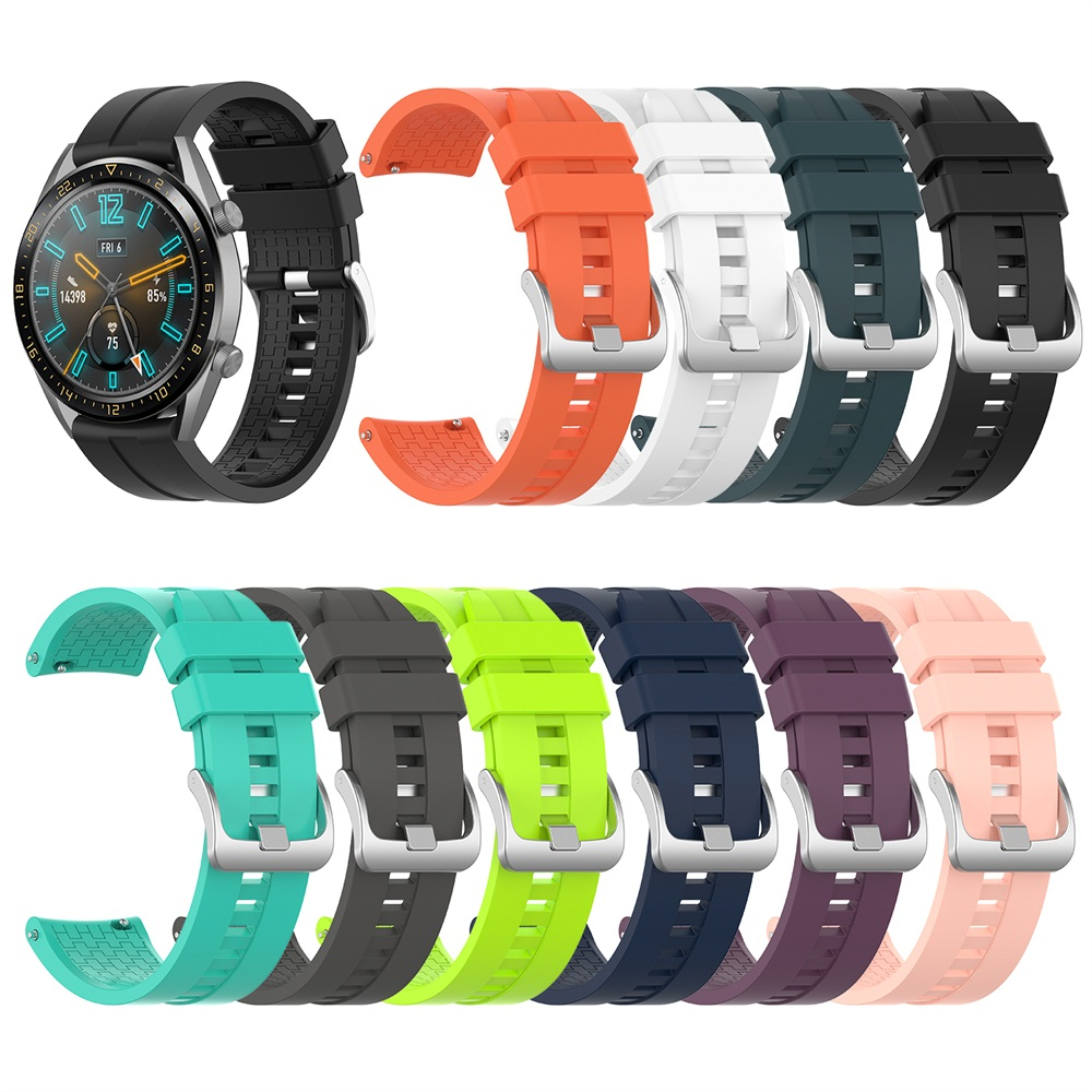 10 Colors New Silicone Wrist Strap For Huawei Watch GT Active/Elegant Band Strap For Huawei Honor Magic Smart Watch Bracelet Ban
