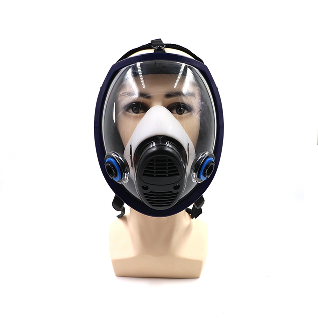 Spray Paint Mask >> Us 34 23 6800 Military Gas Mask Spray Paint Respirator Full N95 Maskfor Chemicals Fumes Pesticide Blue Only Body In Safety Shoe Boots From Security