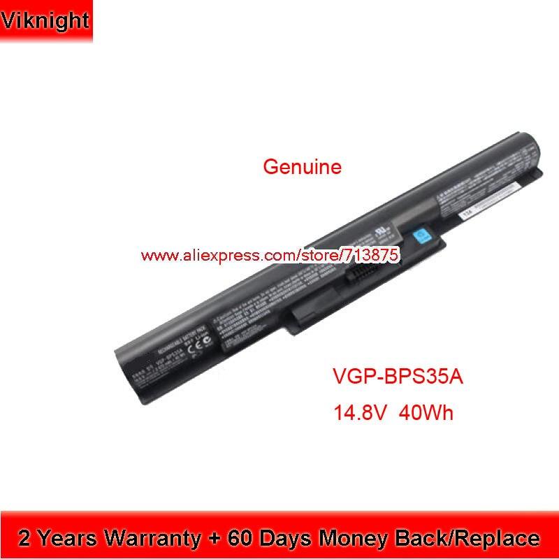 Dorigine VGP-BPS35A Batterie Pour Sony Vaio SVF152A29M SVF152C29M 14E 15E SVF1421X2EB SVF15217SC Portable 14.8 V 2670 mAh 40WhDorigine VGP-BPS35A Batterie Pour Sony Vaio SVF152A29M SVF152C29M 14E 15E SVF1421X2EB SVF15217SC Portable 14.8 V 2670 mAh 40Wh