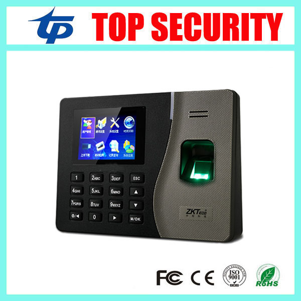 Good quality K14 zk fingerprint time attendance time clock TCP/IP biometric fingerprint reader with Bulit-in battery hot selling 3 high speed good quality 30000 user capacity color screen time attendance time clock m200 with tcp ip rj45