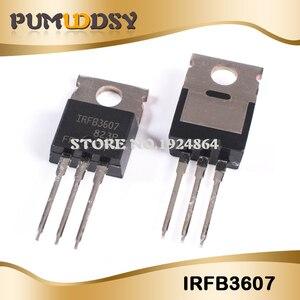 10 sztuk nowy IRFB3607 IRFB3607PBF 80A 75V TO-220 MOSFET darmowa wysyłka IC