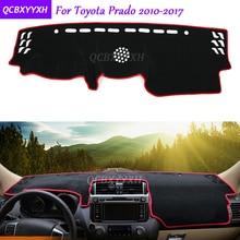 Для Toyota Prado 2010-2017 Dashboard Коврик защитный подкладке Photophobism площадку подушка тени автомобилей Стайлинг авто аксессуары