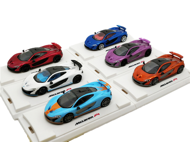 1:64 Colourfulmodel Collection Model Car Mclaren P1 Diecast Miniature Vehicle