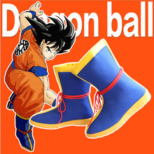 Anime Dragon Ball Heroes Z Son Goku Shoes Cosplay Boots Costume New Arrival
