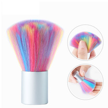 1pcs Cleaning Nail Brush Tools File Art Care Manicure Pedicure Soft Remove Dust Small Angle Clean for nails care