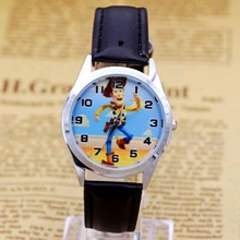 Hot Sale toy story BOYS Cartoon Watch Fashion Lovely Girl Ch