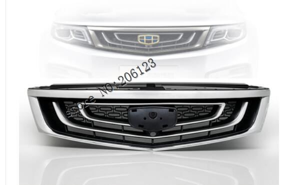 ABS Chrome Front Bumper Upper Radiator Grille Grill Fit For For <font><b>Geely</b></font> <font><b>Atlas</b></font> 2016 2017 2018 <font><b>2019</b></font> image