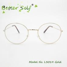 ФОТО Better Self L3019 Full Rim Spectacles Metal Eyewear Women Mens Myopia Optical Frames Round Eyeglasses