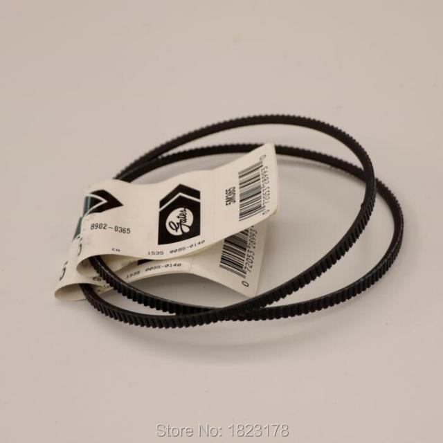 2 stks/partij 5M365 drive riemen Gates Polyflex Riem voor Optimale D 180 machine Gratis verzending