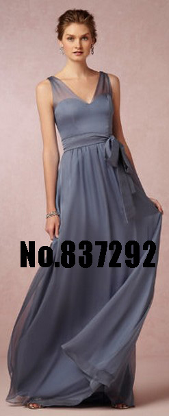 Bridesmaid Dresses Blush Pink Sheer Chiffon Straps Affordable Long Unique Sliver Gray Best Under 100 In From
