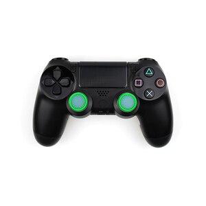 Image 2 - 4 sztuk silikonowe analogowe Thumb Stick uchwyty pokrywa dla PS4 kontroler nakładki na palce dla PS4 Pro Gamepad dla Xbox One dla Xbox 360