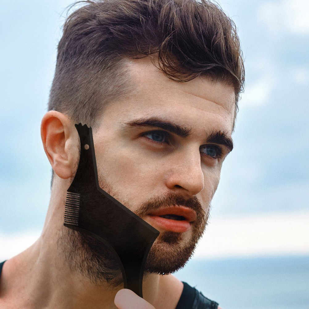 1 Pcs Symmetry Trimming Beard Shaper Styling Shaping Template Comb Barber  Tool NShopping