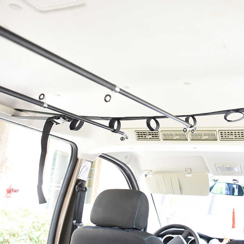 Car fishing rod holder Premium vehicle fishing Rod Carrier quality interior rack good fishing equipment